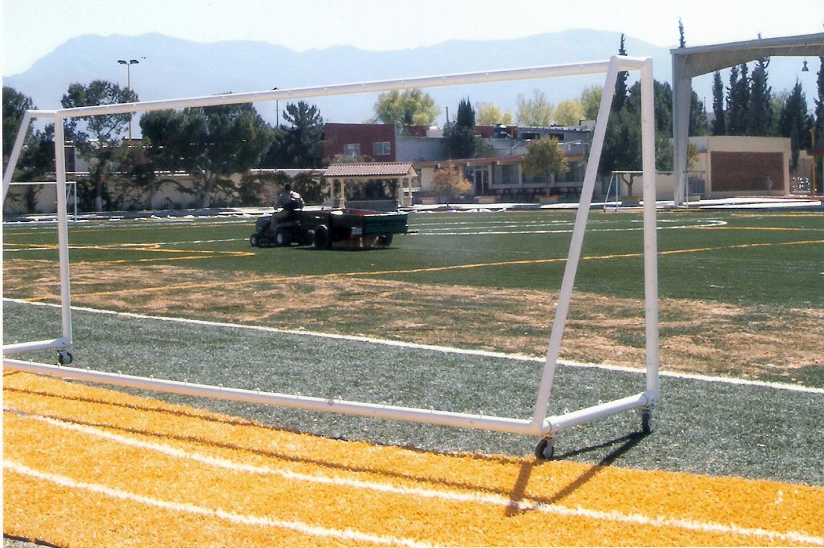 Contruccion de Cancha de Futbol 11